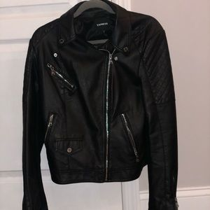 Express faux leather jacket - PERFECT CONDITION